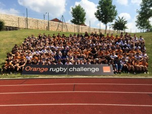 Participants Orange Rugby Challenge 2014
