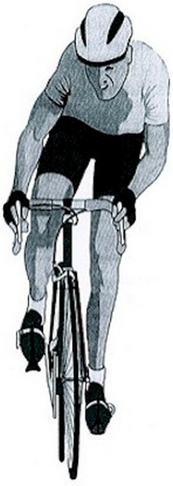 Illustration cycliste
