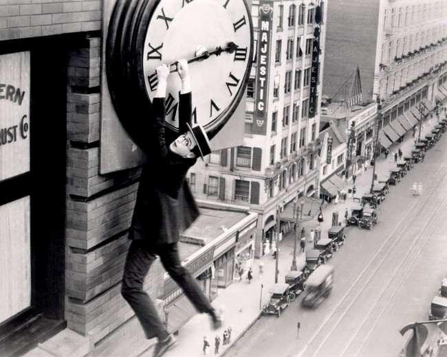 Harold Lloyd in safety las