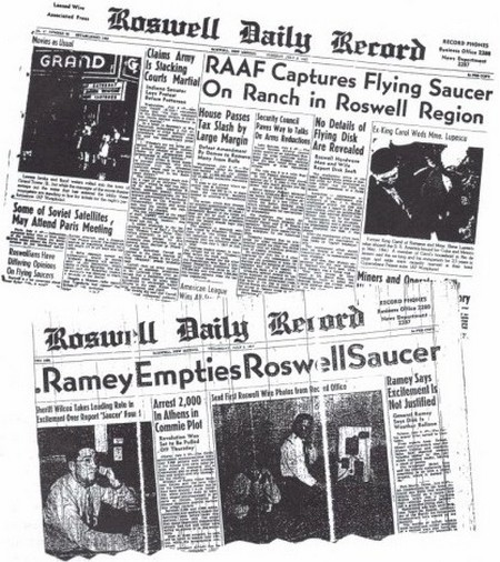 Articles de presse Roswell