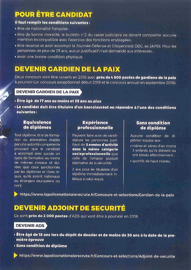 RECRUTEMENT POLICE NATIONALE 03