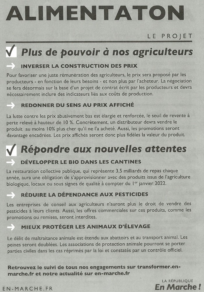 TRACTS LREM OCTOBRE 2018 - Alimentation page 02